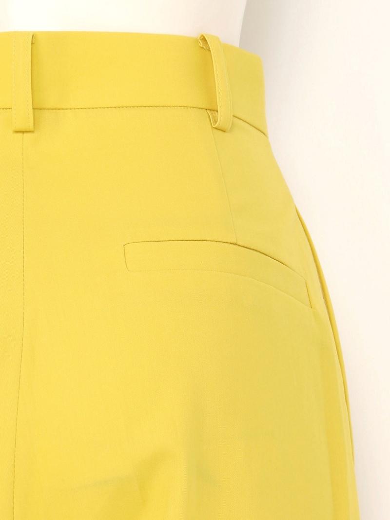 Rakuten FashionSALE 40 OFF ツイルワイドPT FRAY I D フレイ アイディー パンツ ジーンズ ワイド バギーパンツ イエロー レッド RBA E送料無料thQrdoxsCB