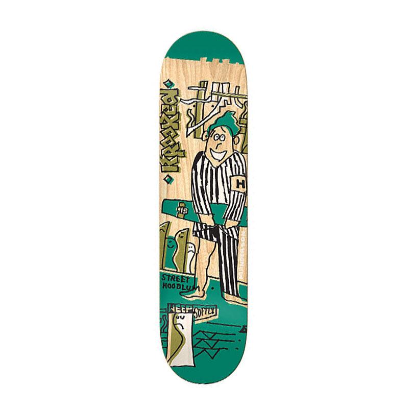KROOKED クルキッド MIKE ANDERSON HOODLUM 8.06 スケートボード デッキ 8.06インチ 通販 skateboard スケボー