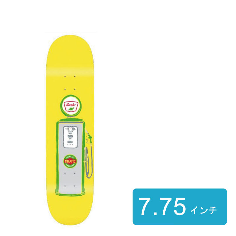 TRAFFIC トラフィック Hiroki Full Service 村岡洋樹モデル スケートボード スケボー デッキ 7.75インチ 通販 skateboard