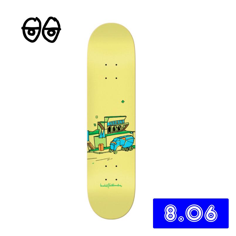 krooked skateboard クルキッド スケートボード Cromer Scenery deck スケートデッキ スケボー 8.06インチあす楽