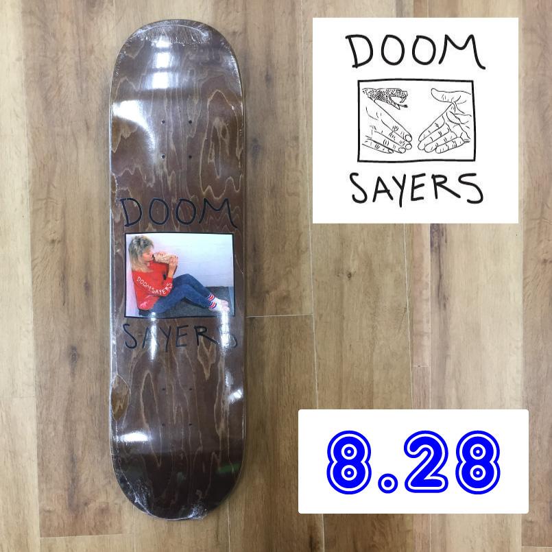 doom sayers ドゥームセイヤーズ スケートボードデッキ Skateboard Deck becky スケボー 板 サイズ8.28インチ
