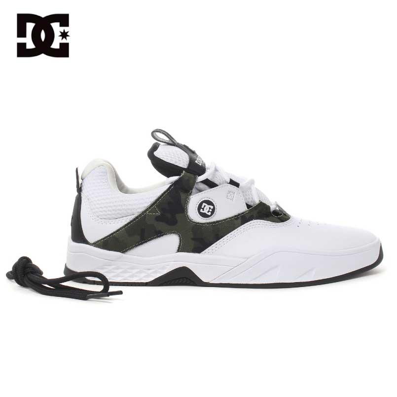 DC SHOES ディーシーシューズ<KALIS S カリス S>スニーカー スケートボードシューズJoshKalisジョシュカリス skateboard 靴スケシュー カラー: WCM
