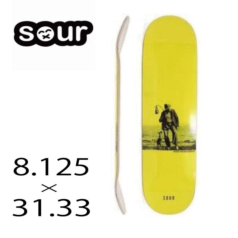 スペイン バルセルロナ発信のブランド スケートボード 好評受付中 デッキ サワーソリューション SOUR 8.152×31.33 SKATEBOARD SOLUTION スケボー DECK enlightenment 信託