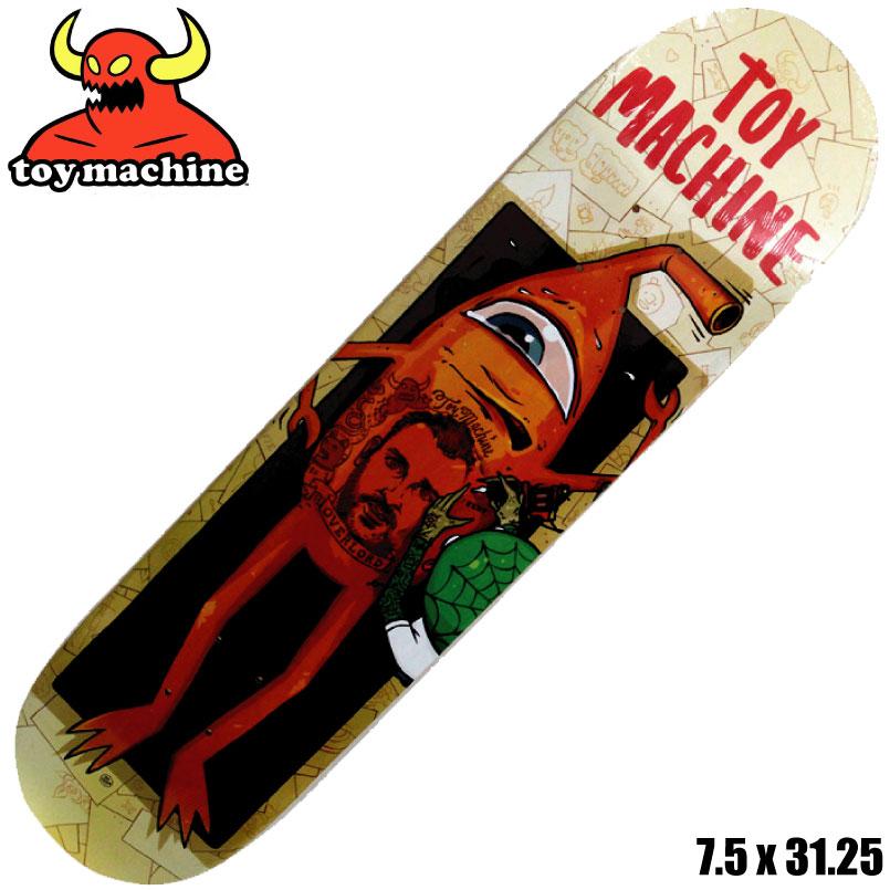 トイマシーン デッキ Toy Machine Templeton Overlord 7.5 スケートボード スケボー SKATEBOARD スケートボード スケボー SKATEBOARD デッキ