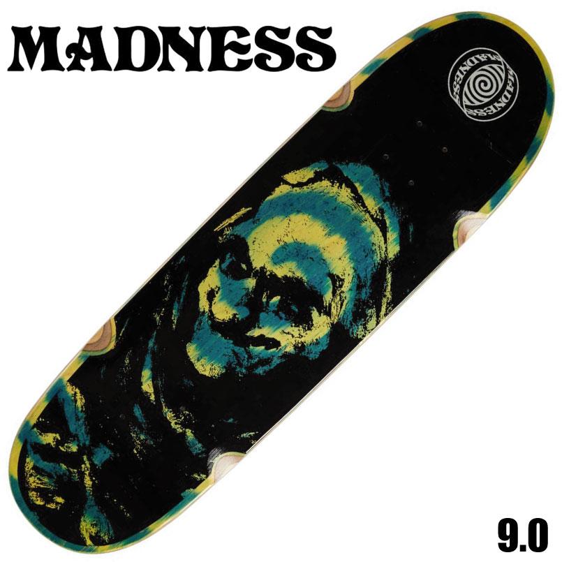 マッドネス デッキ スケートボード デッキ Madness Grim Green Swirl 9 x 32 DECK スケートボード スケボー SKATEBOARD デッキ