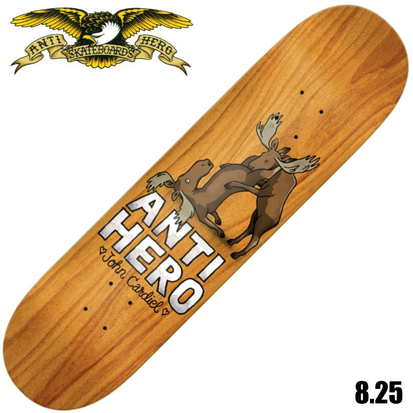 安心と信頼 ハードコアスケートのイメージを世界中に知らしめたブランド アンタイヒーロー スーパーSALE セール期間限定 デッキ スケートボード Anti Hero Cardiel For DECK スケボー Deck II Lovers SKATEBOARD 8.25