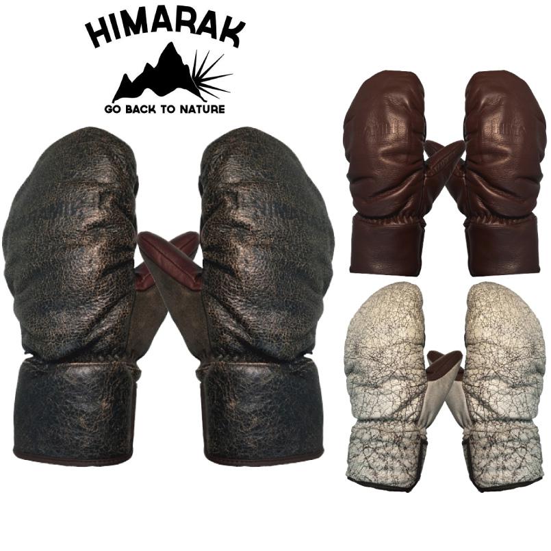 国内生産の純日本製グローブ! ヒマラク グローブ ミトン HIMARAK SHERRY GROVES ユニセックス スノーボード グローブ ミトン スキーグローブ レザーグローブ