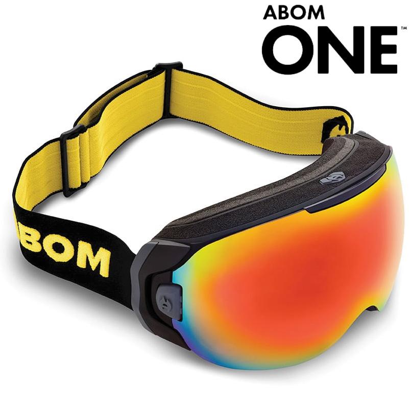 エーボム スノーゴーグル ワン ABOM ONE GOGGLE 電熱線フィルム メンズ レディース スノーボード スキー