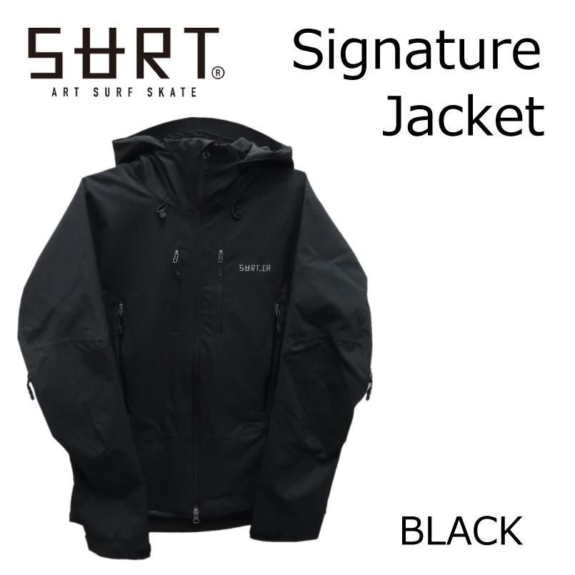 あす楽 2017/2018 SURT サート スノーボードウェア snowboardwear<signature jacket> ジャケット 17-18