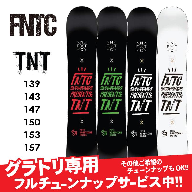 18-19 FNTC < TNT >レイトプロジェクト瀧澤憲一タッキー使用モデルSNOWBOARD グラトリダブルキャンバースノーボード 板 2018-2019
