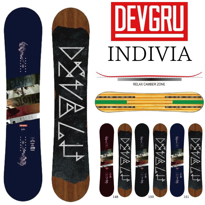 デブグル インディヴィア DEVGRU INDIVIA SNOWBOARD スノーボード 板 2018-2019