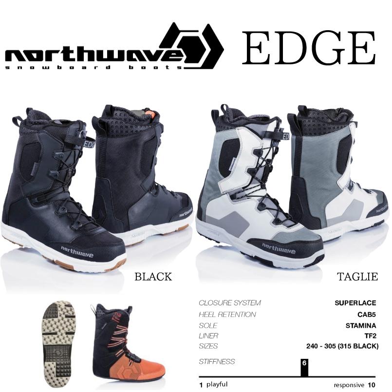 ノースウェーブエッジ NORTHWAVE EDGE SNOWBOARD BOOT スノーボード ブーツ 2018-2019