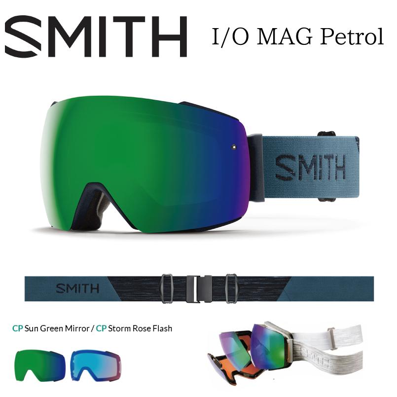 スミス アイオーマグ SMITH I/O MAG  スノーボード ゴーグル レディース メンズ モデル スペアレンズ付き 18-19 日本正規品 2018-2019