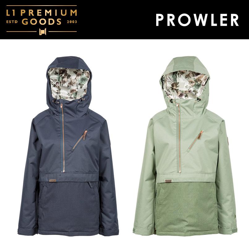 L1 PREMIUM GOODS エルワン <PROWLER プローラージャケット>SNOWBOARD WEAR スノーボード ウェア ジャケット2018-2019
