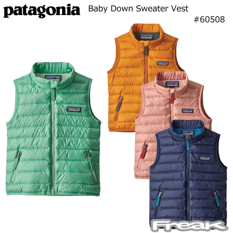 数量限定【最大1200円クーポン】配布中!!パタゴニア PATAGONIA キッズ ベビーベスト 60508<Baby Down Sweater Vest ベビー ダウン セーター ベスト>※取り寄せ品