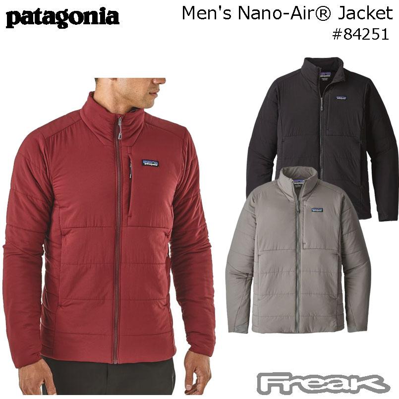 数量限定【最大1200円クーポン】配布中!!パタゴニア PATAGONIA  ジャケット 84251<M's Nano-Air Jacket メンズ ナノエア ジャケット > 2018FW※取り寄せ品