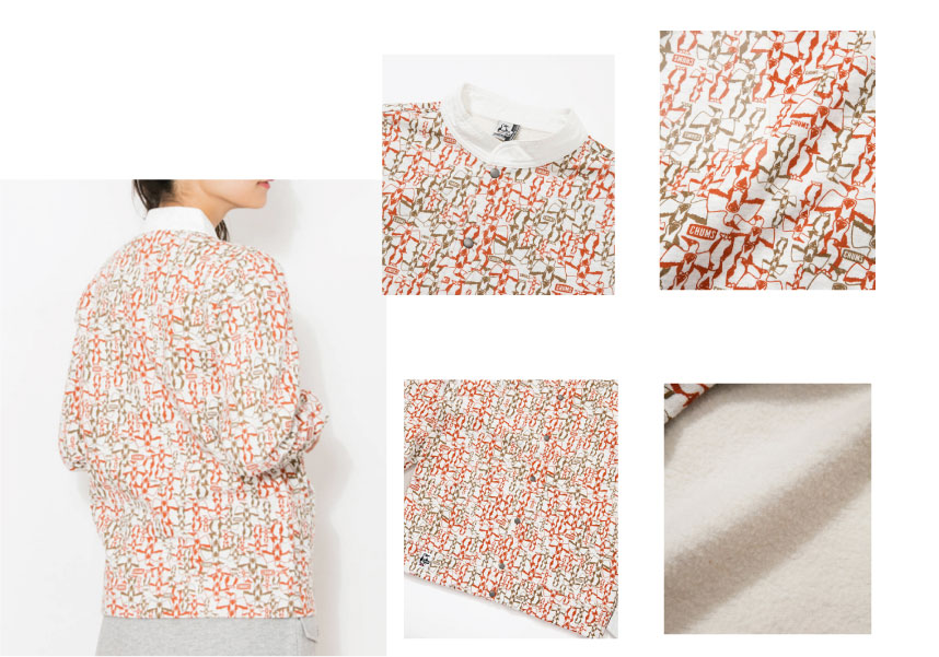 CHUMS チャムス CH00-1083<Full Snap Hurricane Top  フルスナップハリケーントップ >※取り寄せ品