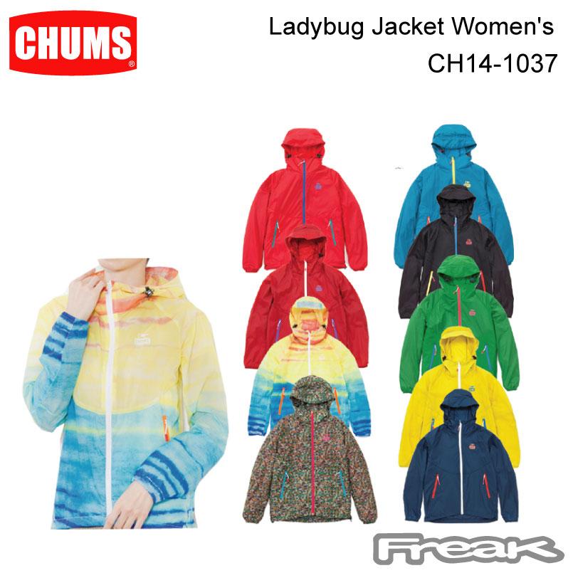 今だけ【最大1200円クーポン】配布中!!CHUMS チャムス CH14-1037<Ladybug Jacket Women's レディバグジャケット >※取り寄せ品