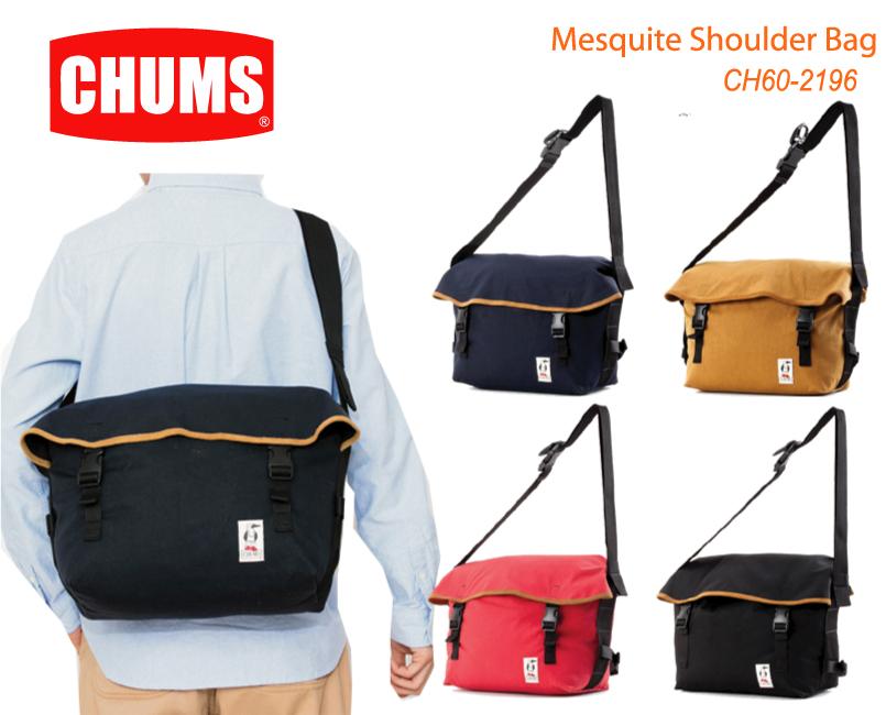 CHUMS チャムス CH60-2196<Mesquite Shoulder Bag  メスキートショルダーバッグ   >※取り寄せ品