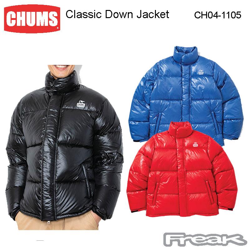 CHUMS メンズ チャムス メンズ トップス CH04-1105<Classic Down Jacket Jacket トップス クラシックダウンジャケット(ダウン/アウター)>※取り寄せ品, オオノマチ:3dd7054c --- officewill.xsrv.jp