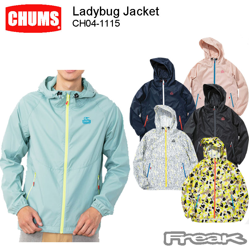 CHUMS チャムス メンズ ジャケット チャムス CH04-1115<Ladybug CHUMS Jacket メンズ レディバグジャケット(ジャケット/アウター) >※取り寄せ品, 楢葉町:d137aacb --- officewill.xsrv.jp