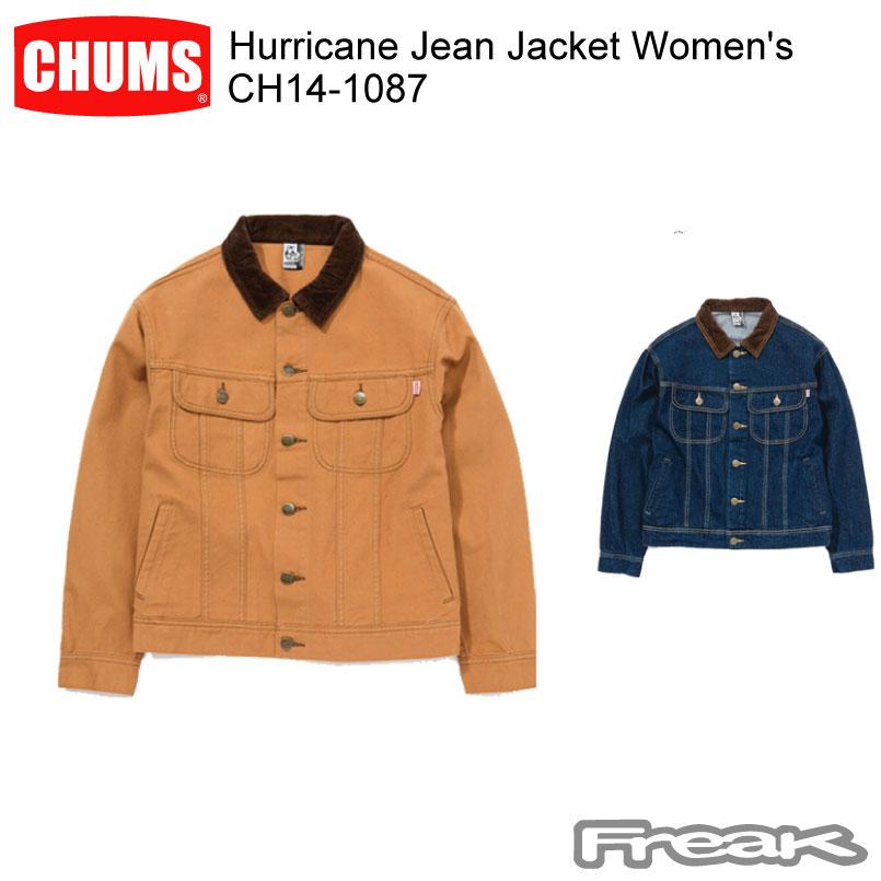 CHUMS レディース チャムス レディース ジャケット CH14-1087<Hurricane ジャケット Jean Jacket Women's Women's >※取り寄せ品, 東村山市:ed75065d --- officewill.xsrv.jp