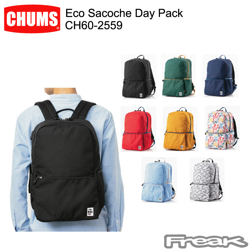 CHUMS チャムス CH60-2559<Eco Sacoche Day Pack  エコサコッシュデイパック>※取り寄せ品