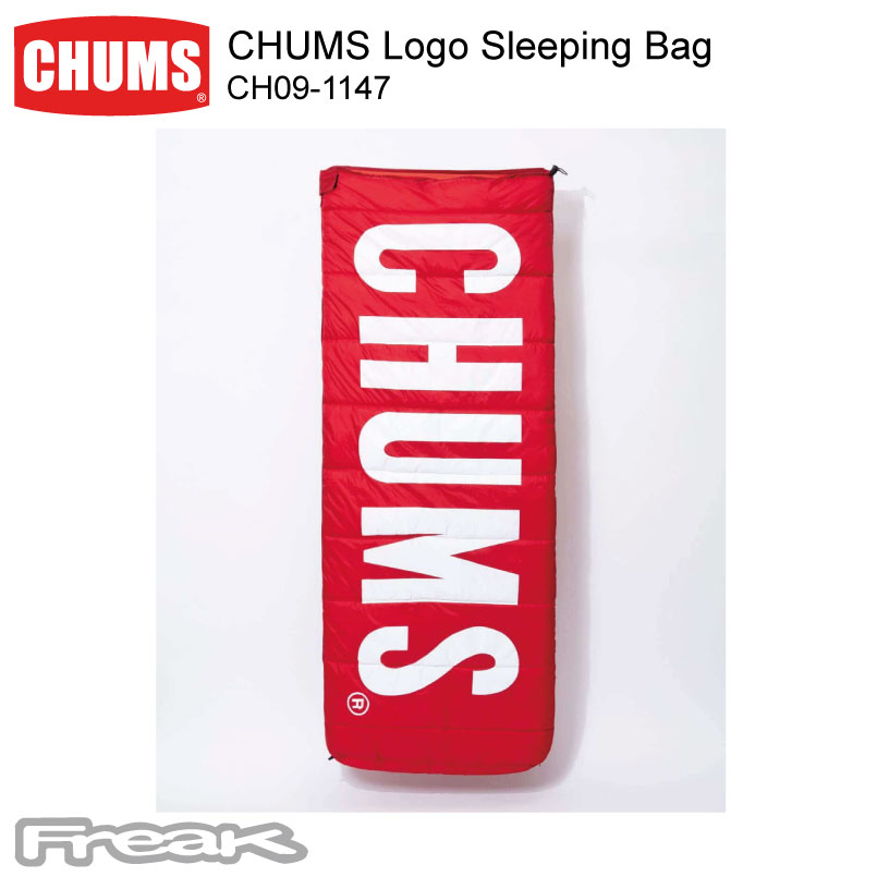 CHUMS チャムス キャンプ アウトドア シュラフ 寝袋 CH09-1147<CHUMS Logo Sleeping Bag チャムスロゴスリーピングバッグ>