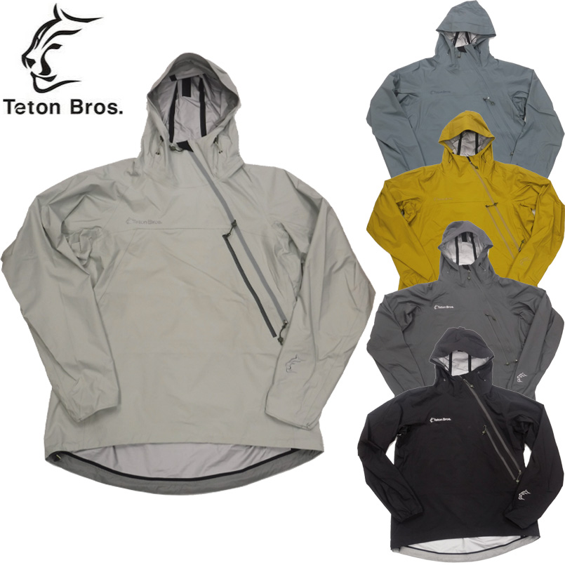 ティートンブロス ツルギ ライト ジャケット ケービー ユニセックス TetonBros Tsurugi Lite Jacket KB Unisex ポーラテック シェルジャケット レインウェア