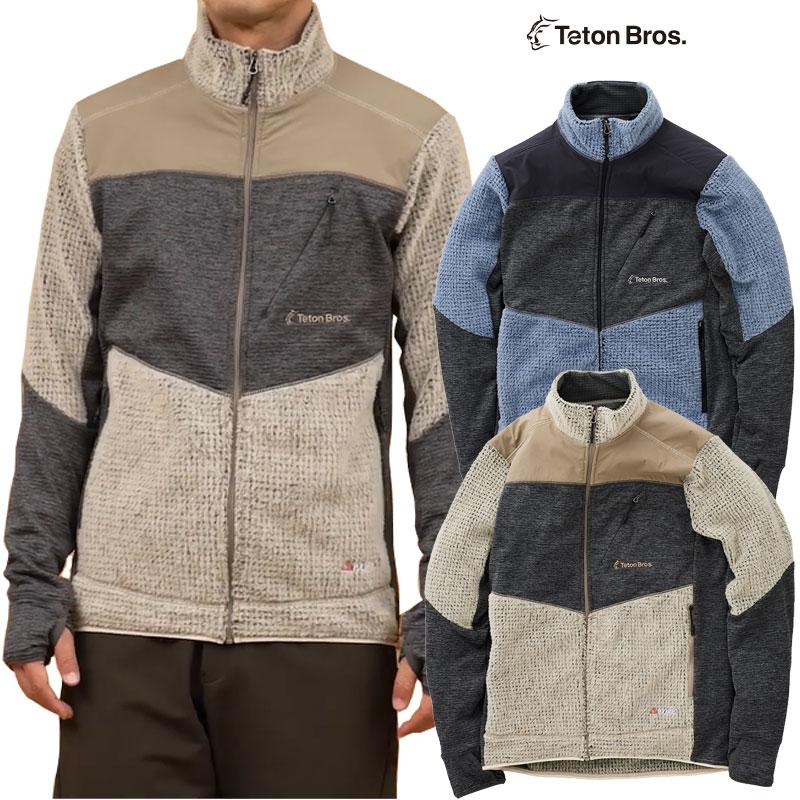 日本が誇るアウトドアブランド ティートンブロス セージブラッシュ ジャケット TetonBros SAGEBRUSH ポーラテック JACKET テレビで話題 フリース 営業 20-21