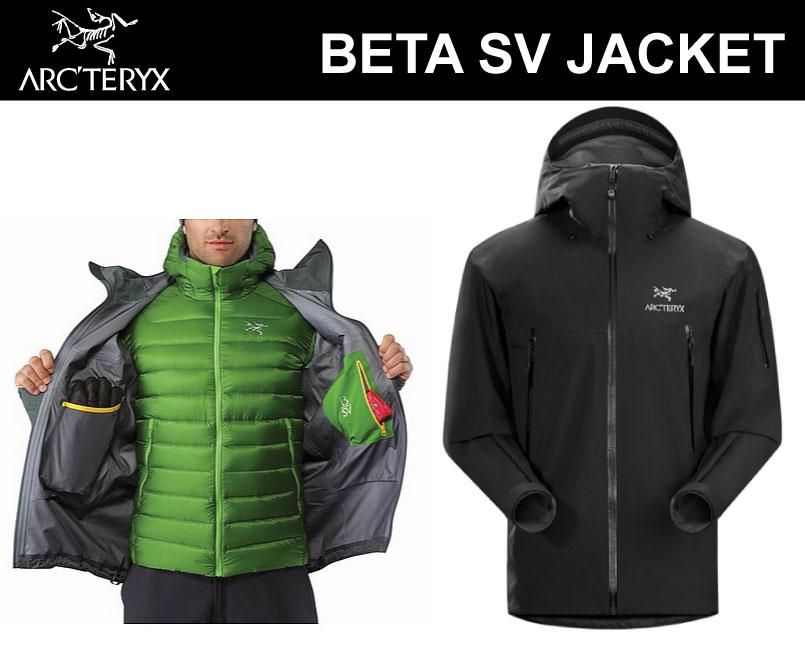 アークテリクス ARC'TERYX < ベータ SV ジャケット Beta SV Jacket Mens メンズ ゴアテックスジャケット>GORE-TEX arcteryx