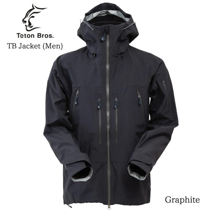 日本が誇るアウトドアブランド! ティートンブロス ティービージャケット TetonBros TB Jacket Men 18-19 ポーラテック
