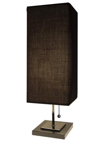 デザイン照明 ディクラッセ シンプル 布 ファブリック ブラック ホワイト テーブルライト スタンドライト / セリエ Serie / LT3690BK / リビング 玄関 廊下 寝室 ベッドサイド スイッチ付き ライト /インテリア照明