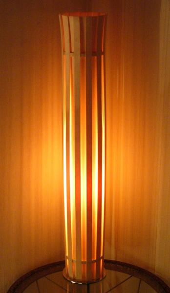 日本製 ウッド 幻想的 木漏れ日 木製 白木 ナチュラル 天然素材 フロアスタンド / クラウン crown 間接照明 / フロアライト フレイムス CROWN 北欧 デザイン照明 おしゃれ リビング 寝室 照明 スタンド あかり インテリア