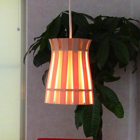 キャッシュレス5%還元 照明 フレイムス ペンダントライト flames CROWN 木漏れ日のような光をお楽しみください クラウン DP-020 国内生産品 木製 玄関 トイレ リビング ダイニング ナチュラル ウッド 白木【セットでうふふ対応】インテリア照明