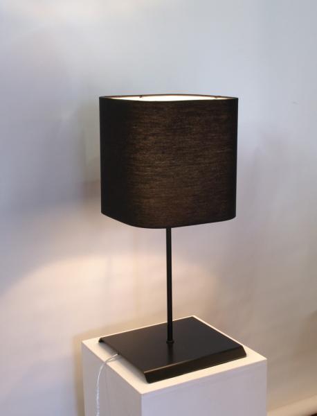 フレイムス ブラックでシックなスタンドライト/アーバン/flames DS-041B インテリア照明 リビング 寝室 テーブルライト