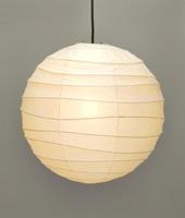 【白熱電球プレゼント中】光の彫刻 イサムノグチ AKARI ペンダントライト 100ワットタイプインテリア照明 / 和風 和室 照明 和紙 デザイナーズ照明