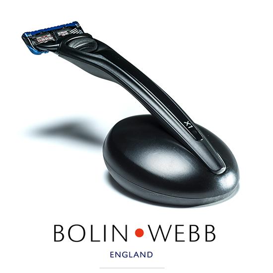 英国製 名車と同じ塗装を施したプレミアム シェーバー 髭剃り Bolin・Webb X1 シリーズ( Gillette Fusion 5枚刃 )人気 Nero black ボーリングウェブ ボリンウェブ 替刃は ジレット ヒュージョン に対応 ギフト プレゼント 誕生日 記念日 父の日 などに