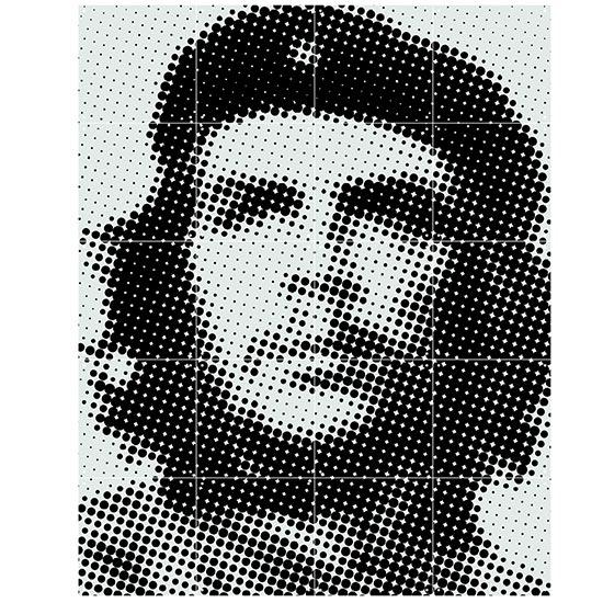 Che Guevara IXXI ウォールピクチャーsize small 80 x 100cm 壁を傷つけない 簡単取付 賃貸物件の模様替えにも ヨーロッパで大人気な 名画が楽しめます。