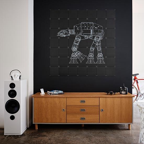 【送料無料/即納】  Star Wars size Galaxy// 簡単取付 IXXI ウォールピクチャー size 140x140cm 壁を傷つけない 簡単取付 賃貸物件の模様替えにも ヨーロッパで大人気な 名画が楽しめます。, ナルキ屋:17897cf3 --- clftranspo.dominiotemporario.com
