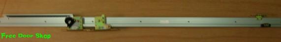 アウトセット 1本引  壁付け吊り戸   傾斜式(m-024)【送料無料】