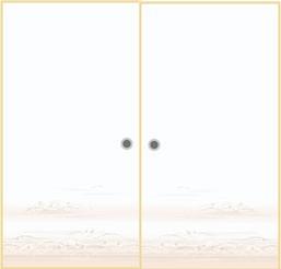 オーダー押入れ襖 観音開き 両開き(fkm-006)No/306 両開き 観音 開き式 押入れ襖 収納 板襖 オーダー ふすま フスマ 思いを形に! 空間に合わせて製作 DIY 特注 別注 取って付き ローラーキャッチ付き