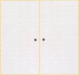 オーダー押入れ襖 観音開き 両開き(fks-010)No/310 天袋両開き 地袋両開き 観音 開き式 押入れ襖 収納 板襖 オーダー ふすま フスマ 思いを形に! 空間に合わせて製作 DIY 特注 別注 取って付き ローラーキャッチ付き