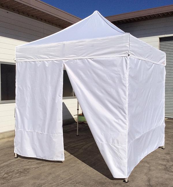 2.5m幅 テント横幕 ジッパー仕様 【横幕のみの販売になります。テント本体は別売りとなります。】