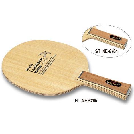 ニッタク Nittaku 卓球 ラケット シェークハンド シェイクハンド ルデアック ST(NE-6784) FL(NE-6785) NE-6784 NE-6785