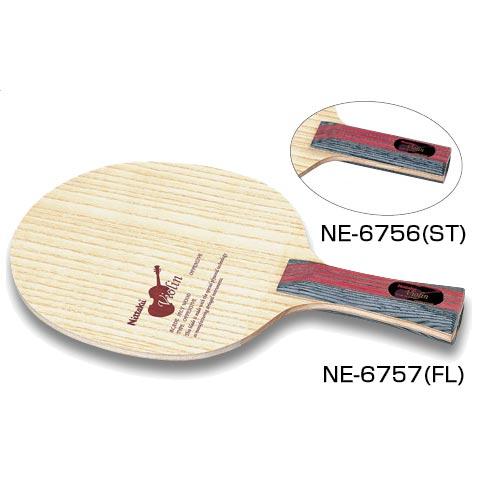 ニッタク Nittaku メンズ レディース 卓球 ラケット シェークハンド シェイクハンド 攻撃用 バイオリン NE-6756 NE-6757 NE-6756 NE-6757