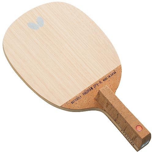 バタフライ Butterfly メンズ レディース 卓球 ラケット ペンホルダー ハッドロウJPV - R 23830