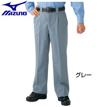 ミズノ Mizuno メンズ 高校野球・ボーイズリーグ審判員用 スラックス 3シーズン用 野球ウェア ロングパンツ 52PU4304