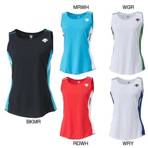 ̄ ウホッ 今なら全品送料無料 レディース 信用 ランニングシャツ ジョギング マラソン デサント ランニング DESCENTE 激安超特価 DRN-4721W DRN4721W ウェア