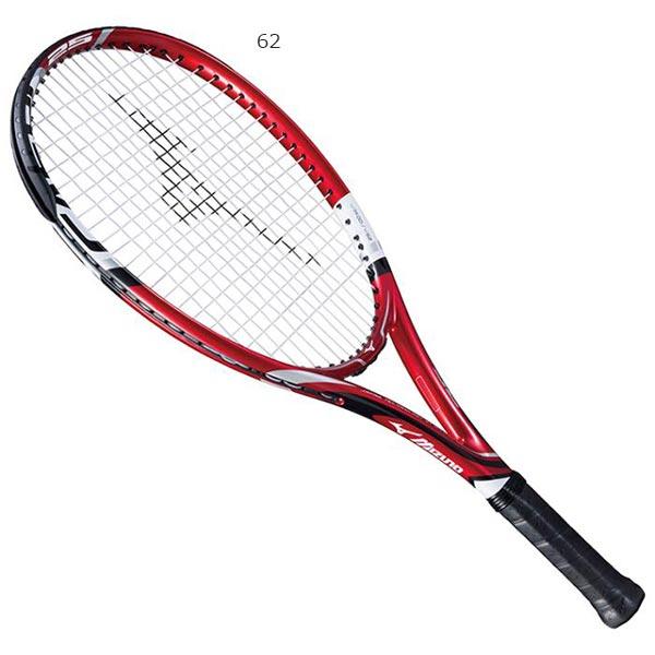 ミズノ Mizuno ジュニア キッズ テニスラケット Fエアロ 25 テニス ストリング張り上げ ケース付 63JTH708